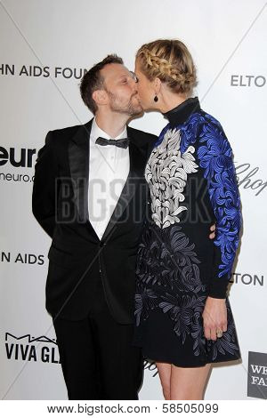 Bodhi Elfman, Jenna Elfman at the Elton John Aids Foundation 21st Academy Awards Viewing Party, West Hollywood Park, West Hollywood, CA 02-24-13