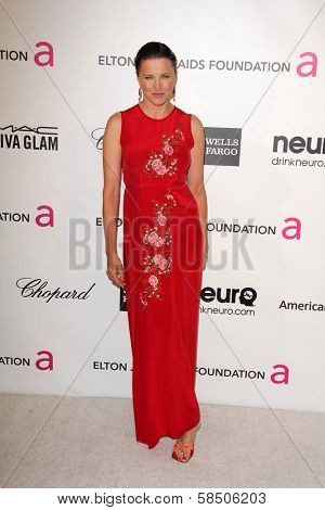 Lucy Lawless at the Elton John Aids Foundation 21st Academy Awards Viewing Party, West Hollywood Park, West Hollywood, CA 02-24-13