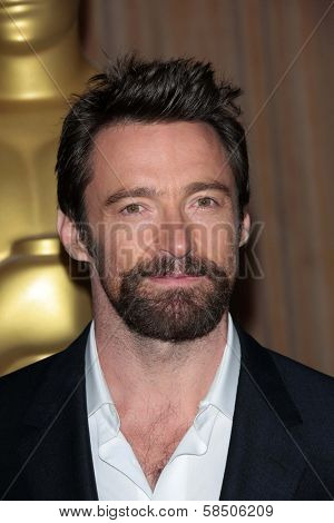 Hugh Jackman at the 85th Academy Awards Nominations Luncheon, Beverly Hilton, Beverly Hills, CA 02-04-13