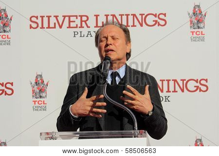 Billy Crystal at the Robert De Niro Hand and Foot Print Ceremony, Chinese Theater, Hollywood, CA 02-04-13