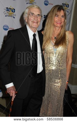 Martin Landau and Gretchin Becker at the 23rd Annual Night Of 100 Stars Black Tie Dinner Viewing Gala, Beverly Hills Hotel, Beverly Hills, CA 02-24-13