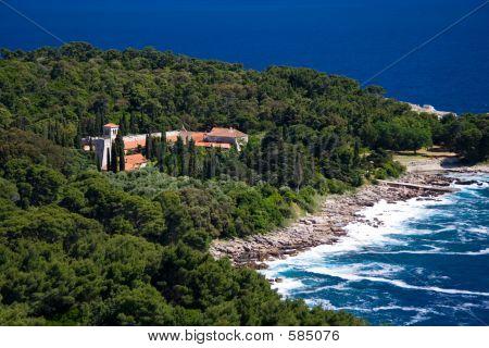 Stock Photo Of The Island Of Lokrum