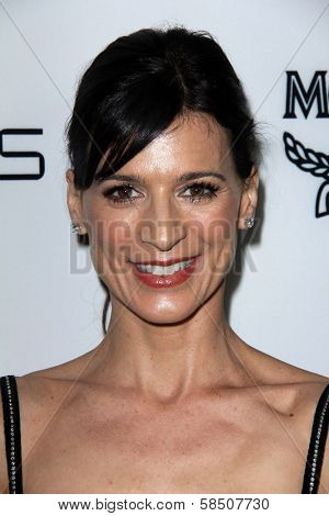Perrey Reeves at Harper's Bazaar Celebrates The Launch Of The Dukes of Melrose, Sunset Tower, West Hollywood, CA 02-28-13