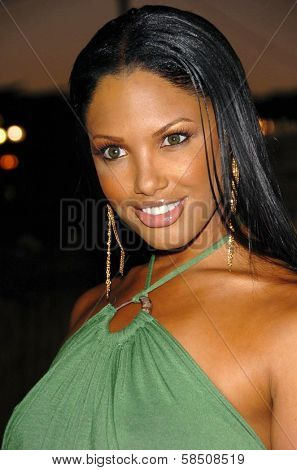 HOLLYWOOD - July 07: K.D. Aubert at A Midsummer Night's Dream: A Magic Night of Poker, Players and Stars in The Avalon on July 07, 2006 in Hollywood, CA.
