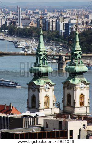 Landscape of Budapest