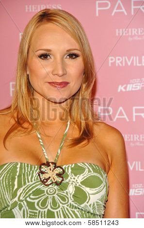 HOLLYWOOD - AUGUST 18: Alana Curry at the party celebrating the launch of Paris Hilton's Debut CD