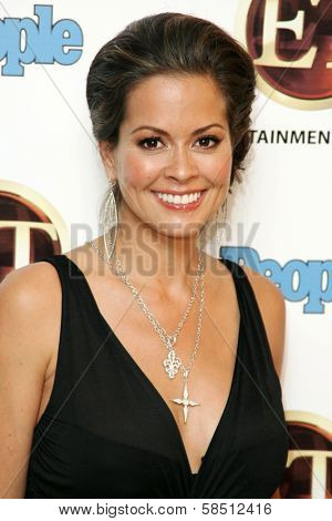 WEST HOLLYWOOD - AUGUST 27: Brooke Burke at the 10th Annual Entertainment Tonight Emmy Party Sponsored by People in Mondrian August 27, 2006 in West Hollywood, CA.