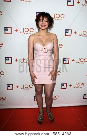 Kaili Thorne at the introduction of Joe Fresh at JCP, Joe Fresh at JCP Pop Up Store, Los Angeles, CA 03-07-13