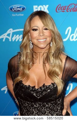 Mariah Carey at the