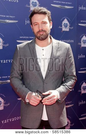 Ben Affleck at the 10th Annual John Varvatos Stuart House Benefit, John Varvatos Boutique, Beverly Hills, CA 03-10-13