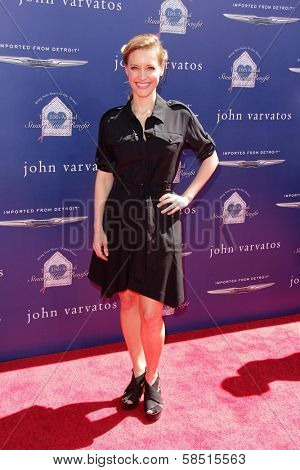 KaDee Strickland at the 10th Annual John Varvatos Stuart House Benefit, John Varvatos Boutique, Beverly Hills, CA 03-10-13