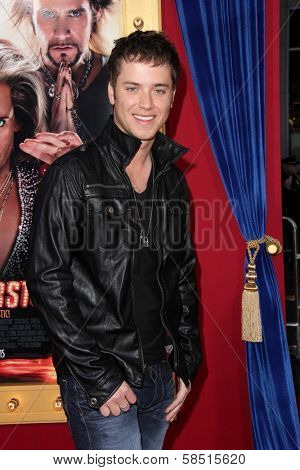 Jeremy Sumpter at the World Premiere of