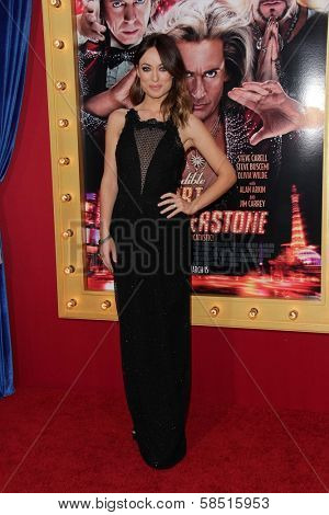 Olivia Wilde at the World Premiere of