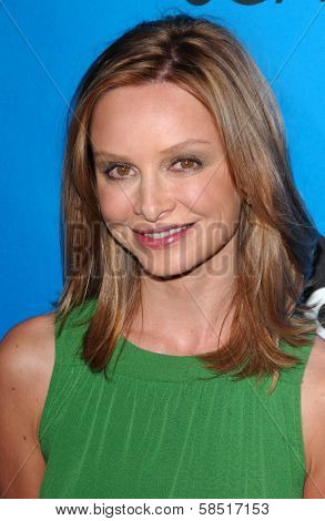 PASADENA, CA - JULY 19: Calista Flockhart at the Disney ABC Television Group All Star Party on July 19, 2006 at Kidspace Children's Museum in Pasadena, CA.