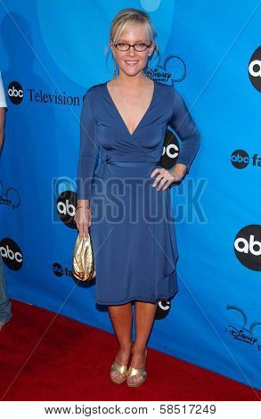 PASADENA, CA - JULY 19: Rachael Harris at the Disney ABC Television Group All Star Party on July 19, 2006 at Kidspace Children's Museum in Pasadena, CA.