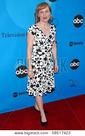 PASADENA, CA - JULY 19: Stephnie Weir at the Disney ABC Television Group All Star Party on July 19, 2006 at Kidspace Children's Museum in Pasadena, CA.