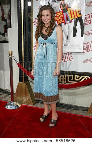 HOLLYWOOD - JULY 25: Jillian Clare at the premiere of John Tucker Must Die on July 25, 2006 at Grauman's Chinese Theatre in Hollywood, CA.