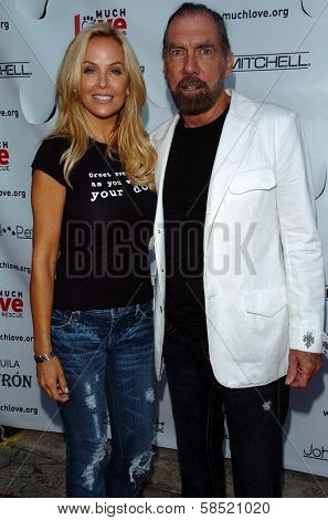 MALIBU, CA - AUGUST 05: Eloise DeJoria and John Paul DeJoria at