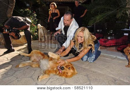 MALIBU, CA - AUGUST 05: John Paul Dejoria and Eloise Dejoria at