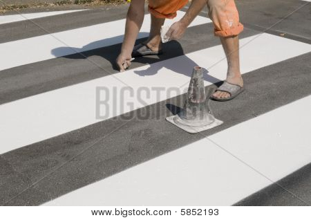 Crosswalk Repairing