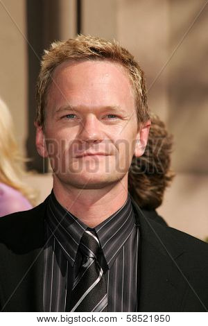 LOS ANGELES - AUGUST 19: Neil Patrick Harris at the 58th Annual Creative Arts Emmy Awards on August 19, 2006 at Shrine Auditorium in Los Angeles, CA.
