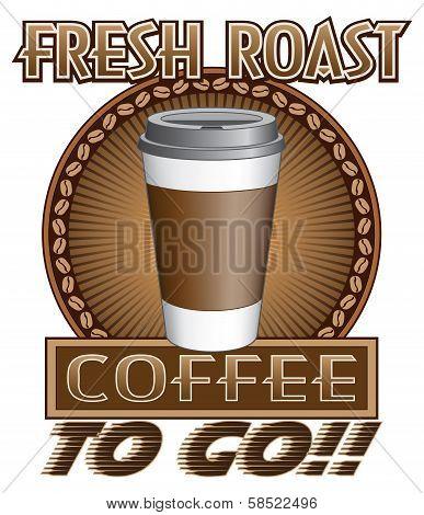 Coffee Fresh Roast To Go
