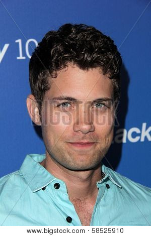 Drew Seeley at the Blackberry Z10 Launch Party, Cecconis, West Hollywood, CA 03-20-13