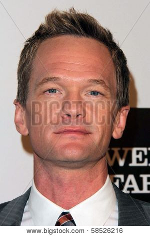 Neil Patrick Harris at the L.A. Gay And Lesbian Center Hosts 'An Evening' honoring Amy Pascal and Ralph Ricci, Beverly Wilshire, Beverly Hills, CA 03-21-13