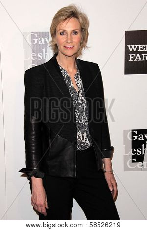 Jane Lynch at the L.A. Gay And Lesbian Center Hosts 'An Evening' honoring Amy Pascal and Ralph Ricci, Beverly Wilshire, Beverly Hills, CA 03-21-13