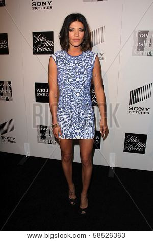 Jessica Szohr at the L.A. Gay And Lesbian Center Hosts 'An Evening' honoring Amy Pascal and Ralph Ricci, Beverly Wilshire, Beverly Hills, CA 03-21-13