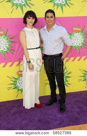 Fivel Stewart, Booboo Stewart at Nickelodeon's 26th Annual Kids' Choice Awards, USC Galen Center, Los Angeles, CA 03-23-13