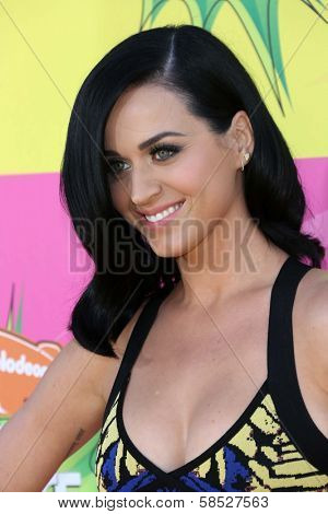 Katy Perry at Nickelodeon's 26th Annual Kids' Choice Awards, USC Galen Center, Los Angeles, CA 03-23-13