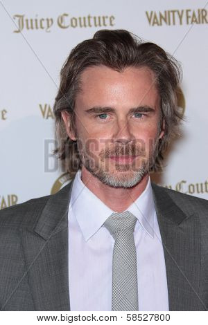 Sam Trammell at the Vanities 20th Anniversary With Juicy Couture, Siren Studios, Hollywood, CA 02-20-12