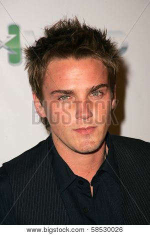 HOLLYWOOD - AUGUST 02: Riley Smith at Saturn's X-Games 12 Party at 6820 Hollywood Blvd on August 02, 2006 in Hollywood, CA.