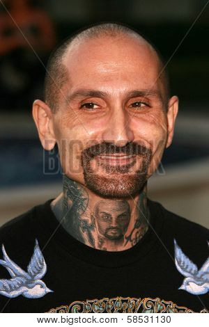 HOLLYWOOD - AUGUST 25: Robert LaSardo at the