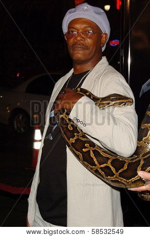 HOLLYWOOD - AUGUST 17: Samuel L Jackson at the Los Angeles Premiere of
