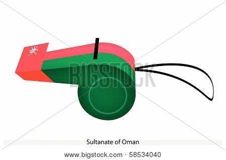 A Whistle Of The Sultanate Of Oman