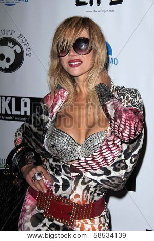 Nadeea at the No Kill L.A. Charity Event, Fred Segal, West Hollywood, CA 04-02-13