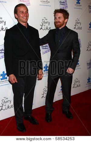 Lou Taylor Pucci, Seth Green at