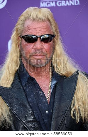 Duane Chapman at the 48th Annual Academy Of Country Music Awards Arrivals, MGM Grand Garden Arena, Las Vegas, NV 04-07-13