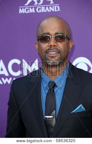 Darius Rucker at the 48th Annual Academy Of Country Music Awards Arrivals, MGM Grand Garden Arena, Las Vegas, NV 04-07-13