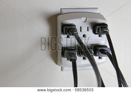 Open AC Power Outlet