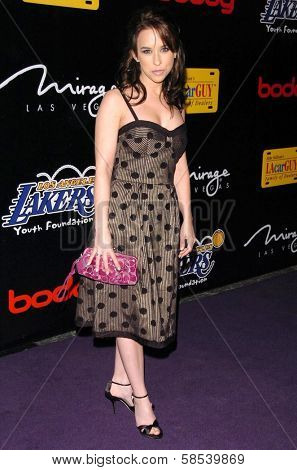 LOS ANGELES - APRIL 12: Lacey Chabert at the 3rd Annual Bodog Celebrity Poker Invitational at Barker Hangar on April 12, 2006 in Santa Monica, CA.