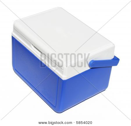 Blue cooler