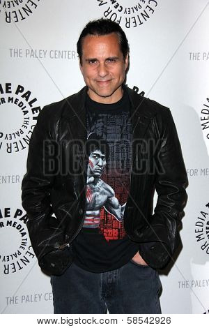 Maurice Benard at General Hospital: Celebrating 50 Years and Looking Forward, Paley Center for Media, Beverly Hills, CA 04-12-13