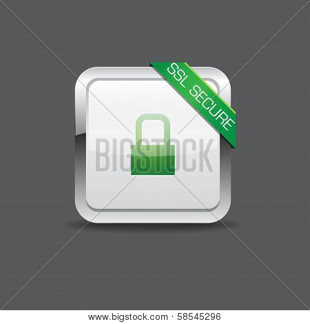 SSL Secure Vector Icon