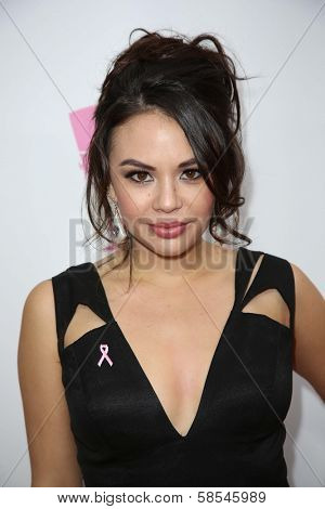 Janel Parrish at the What a Pair Benefit 2013, Eli Broad Stage, Santa Monica, CA 04-13-13