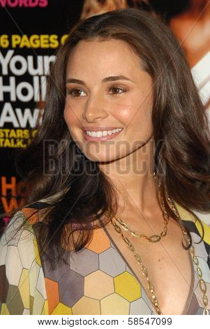 HOLLYWOOD - APRIL 30: Mia Maestro at Movieline's Hollywood Life 8th Annual Young Hollywood Awards at Henry Fonda Music Box Theater on April 30, 2006 in Hollywood, CA.