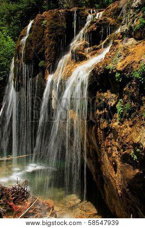 Hanging Lake Waterfall, Glenwood Canyon, Colorado