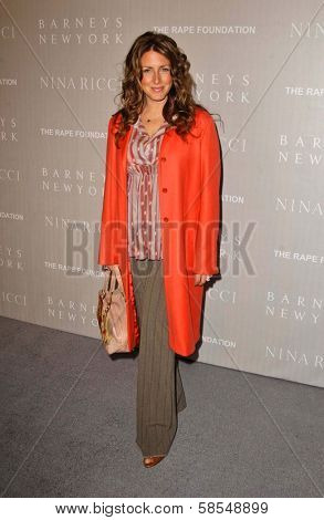 BEVERLY HILLS - APRIL 26: Joely Fisher at the Nina Ricci Fashion Show and Gala Dinner to Benefit The Rape Foundation by Barneys New York at Barneys New York on April 26, 2006 in Beverly Hills, CA.